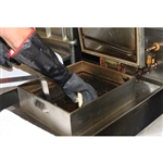 Oil Shield Neoprene Cotton Lined Fryer Glove Black - 18 in.