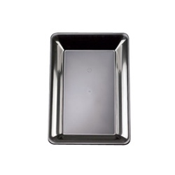 EMI Yoshi Party Tray Black Rectangular Platter - 10 in. x 14 in.