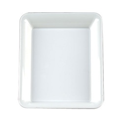 EMI Yoshi Party Tray Rectangular White Platter - 10 in. x 8 in.