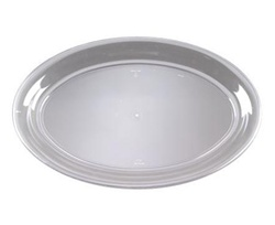 EMI Yoshi Party Tray Clear Oval Platter - 14 in. x 21 in.