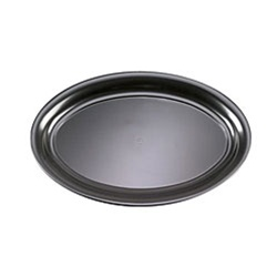 EMI Yoshi Black Oval Bowl 250 Oz. - 14 in.x21 in.