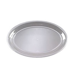 EMI Yoshi Clear Oval Bowl 250 Oz. - 14 in.x21 in.