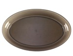 EMI Yoshi Party Tray Smoke Oval Platter - 14 in. x 21 in.