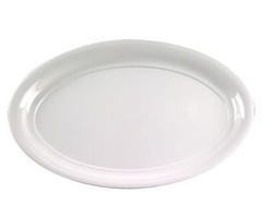 EMI Yoshi Party Tray White Oval Platter - 14 in. x 21 in.