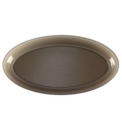 EMI Yoshi Smoke Party Tray Oval Platter - 14 in. x 25 in.