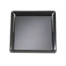 EMI Yoshi Party Tray Black Square Platter - 16 in. x 16 in.