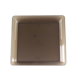 EMI Yoshi Party Tray Smoke Square Platter - 16 in. x 16 in.