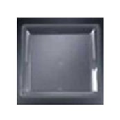 EMI Yoshi Black Party Tray Square Platter - 18 in. x 18 in.