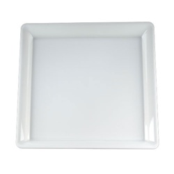 EMI Yoshi White Party Tray Square Platter - 18 in. x 18 in.