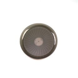 EMI Yoshi Smoke Plastic Round Party Tray - 12 in.