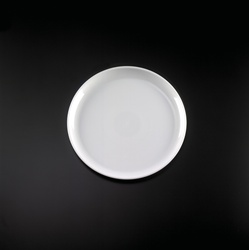 EMI Yoshi White Plastic Round Party Tray - 12 in.