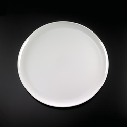 EMI Yoshi Party Tray Round White Plastic Tray - 18 in.
