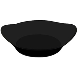 EMI Yoshi Small Wonders Collection Relish Dish - Black