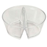 EMI Yoshi Small Wonders Duplex Bowl - Clear