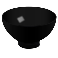 EMI Yoshi Small Wonders Petite Bowl - Black
