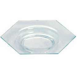 EMI Yoshi Small Wonders Honeycomb Plate - Ocean Blue