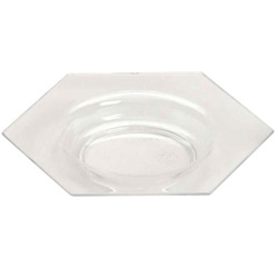 EMI Yoshi Small Wonders Honeycomb Plate - Clear
