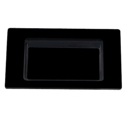 EMI Yoshi Small Wonders Square Mini Plate - Black