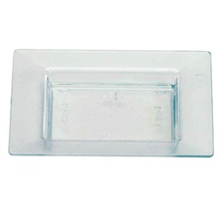EMI Yoshi Small Wonders Square Mini Plate - Ocean Blue