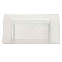 EMI Yoshi Small Wonders Square Mini Plate - Clear