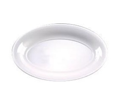 EMI Yoshi Party Tray Oval White Platter - 8 in. x 12 in.