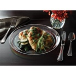 EMI Yoshi Caterers Collection Plate Clear - 10 in.