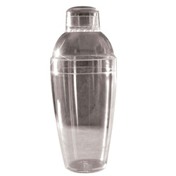 EMI Yoshi Cocktail Shaker Clear - 14 Oz.