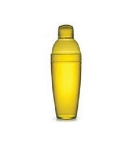 EMI Yoshi Cocktail Shaker Assorted Colors Yellow - 14 Oz.