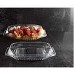 EMI Yoshi Resposable Pet Lid For Sundae Dish Clear - 15 Oz.