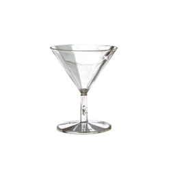 EMI Yoshi Mini Martini Glass Clear 2 Pieces - 2 Oz.