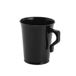 EMI Yoshi Polypropylene Coffee Mug Black - 8 Oz.