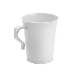 EMI Yoshi Polypropylene Coffee Mug White - 8 Oz.