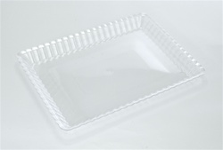 EMI Yoshi Resposable Clear Serving Tray - 9 in. x 13 in.