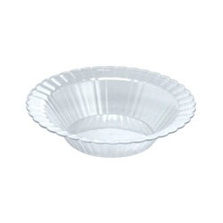 EMI Yoshi Resposable Clear Plastic Dessert Bowl - 12 oz.