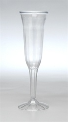 EMI Yoshi Champagne Fluted Glass 1 Piece Clear - 5 Oz.