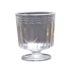 EMI Yoshi Resposable Footed Wine Glass Clear - 2 Oz.