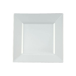 EMI Yoshi Squares Dinner Plate White - 9.5 in.