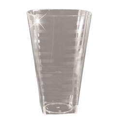 EMI Yoshi Extra Heavy Weight Square Tumbler Clear - 16 Oz.