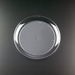 EMI Yoshi Clear Wear Dinner Plate Clear - 9 in.
