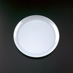 EMI Yoshi Clear Wear Dinner Plate White - 9 in.
