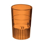 EMI Yoshi Neon Lights Shooter Glass Orange - 1 Oz.