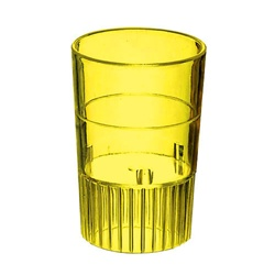 EMI Yoshi Neon Lights Shooter Glass Yellow - 1 Oz.
