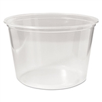 Fabri-Kal Pro-Kal Microwavable Clear 16 oz. Deli Containers