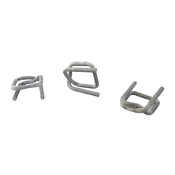 Galvanized Wire Buckle Steel - 0.75 in.