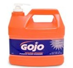 Gojo Natural Orange 1 gal Pump Bottle Pumice Gel Hand Cleaner