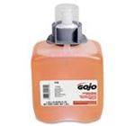 Gojo Luxury Antibacterial Hand Wash, 1250 ml Cartridge, Amber Orange, Foam, Scent: Floral