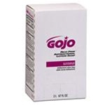 Gojo Rich Pink Antibacterial Soap, 2000 ml Large Bag-In-Box, Pink, Lotion, Scent: Floral