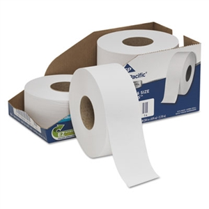 White Jumbo Bathroom Tissue 2-Ply - 3.5 in. x 1000 ft.