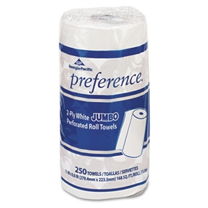 Perforated Paper Towel White - 8.8 in. x 11 in.