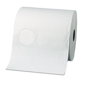 Two-Ply White Nonperforated Paper Towel Rolls - 7.87 in. x 350 ft.